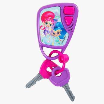 Shimmer and Shine Printed Car Keys