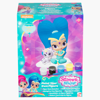 Shimmer and Shine Paint Your Own Figure Set