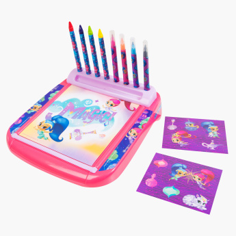 Shimmer and Shine Printed Deluxe Roll and Go Desk Set
