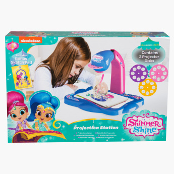 Shimmer and Shine Printed Projection Play Station