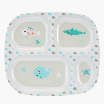 Junior Printed 5-Piece Dinner Set