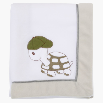Juniors Embroidered Receiving Blanket - 76x102 cms