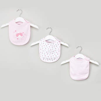 Juniors 3-Piece Printed Bib Set