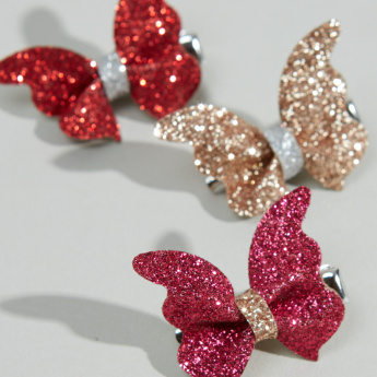 Charmz Embellished Hair Clip - Set of 3