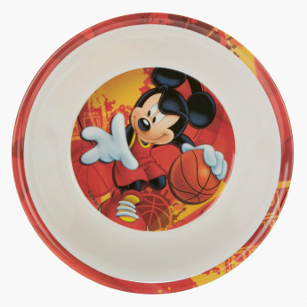 Mickey Mouse Printed Round Bowl