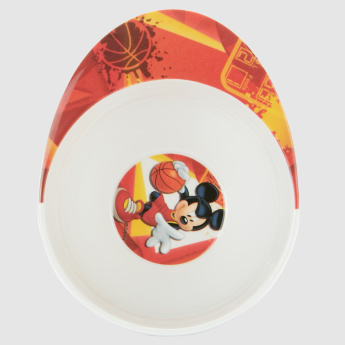Mickey Mouse Printed Toddler Feeder Bowl
