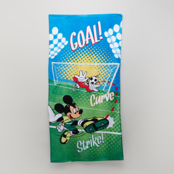 Mickey Mouse Printed Towel - 60x120 cms
