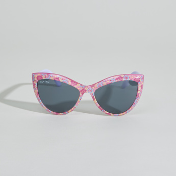 Juniors Printed Cateye Sunglasses