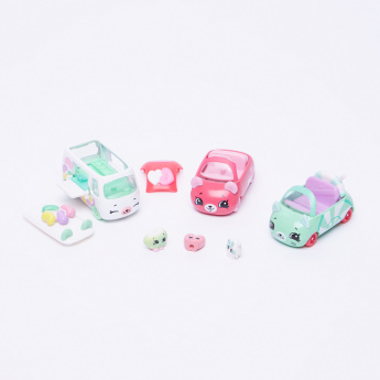 Shopkins Candy Combo 3-Piece Cutie Cars Set ASSORTED