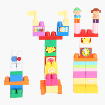 Juniors 49-Piece Building Block Set