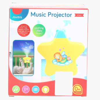Juniors Printed Musical Projector