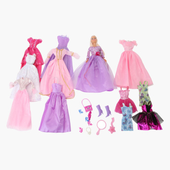 Juniors Dress Me Up Doll Set