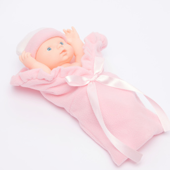 Juniors Baby Doll in Blanket