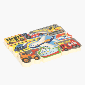 Playgo Air and Land Craft Puzzle Toy