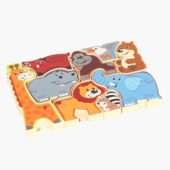 Playgo Wildlife Safari Puzzle