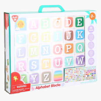 Alphabet Blocks 28-Piece Learning Toy