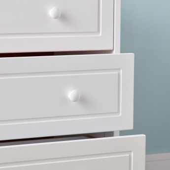 Giggles 3-Drawer Chest of Drawers with Round Handles