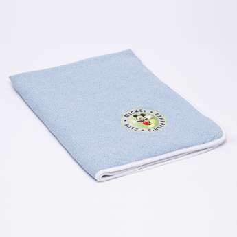Mickey Mouse Textured Receiving Blanket - 76x102 cms