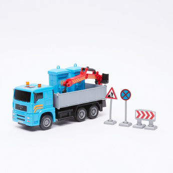 DICKIE TOYS Heavy City Truck with Friction Movable Parts