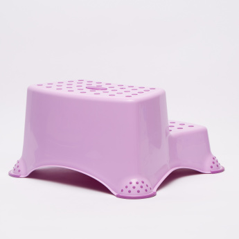 Keeper Printed Double Step Stool with Anti-Slip Function