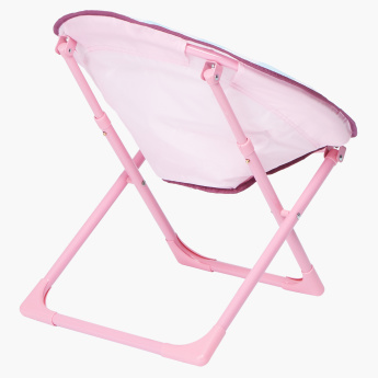 Marie Printed Foldable Moon Chair