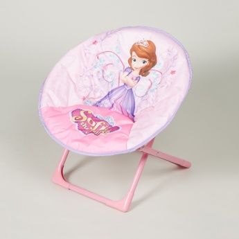 Sofia the First Printed Foldable Moon Chair