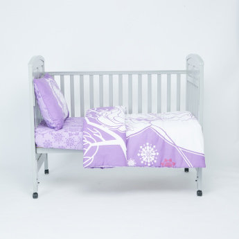 Frozen Printed 3-Piece Comforter Set - 130x170 cms