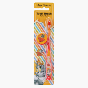 Tom & Jerry Toothbrush with Cap