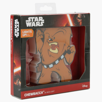 3D Deco Light Mini Star Wars Chewbacca