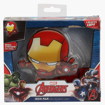 3D DECO LIGHT Iron Man Mini