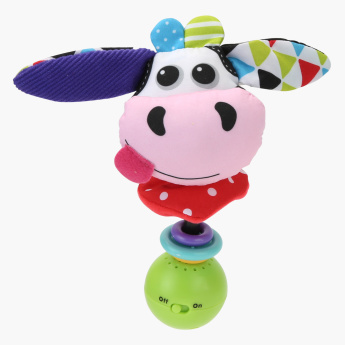 Yookidoo Cow Shake me Rattle Toy