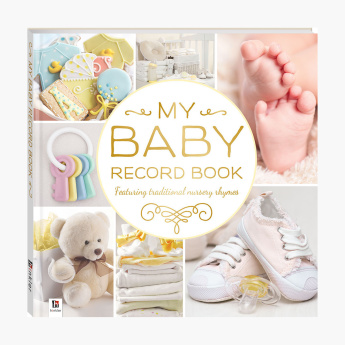 BOUNCE MARKETING Baby Record Book