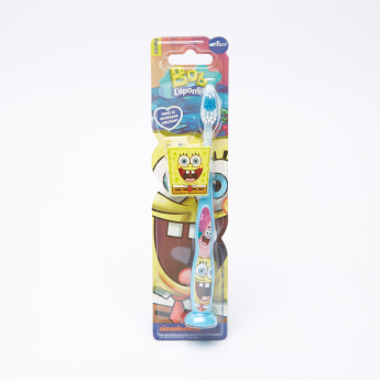 Spongebob Squarepants Toothbrush With Cap And Suction Cup