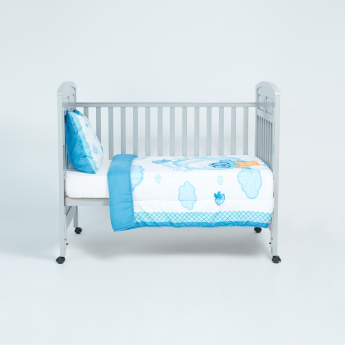 The Smurfs Printed Comforter and Pillow Set - 120x140 cms