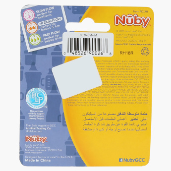 Nuby Anti-Colic Teats - Set of 2