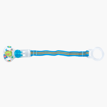 Nuby Striped Pacifier Clip