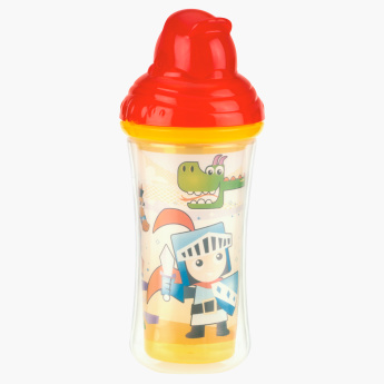 Nuby Printed Insulated Cup with Flip-it Straw - 270 ml