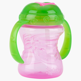 Nuby Free Flow Spout Sipper Bottle with Handle - 240 ml