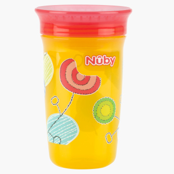 Nuby Printed 360 Angle Sip Wonder Cup - 300 ml