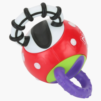 Nuby Twista Ball Playful Teether and Rattle