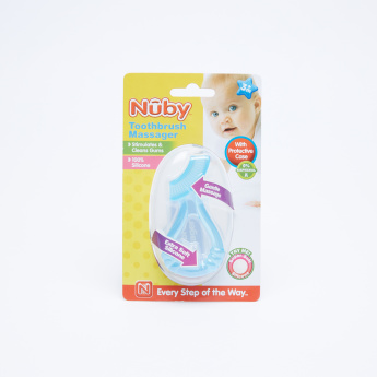 Nuby Toothbrush Massager with Protective Case