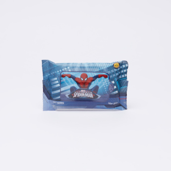 Spider-Man Printed 12-Piece Wet Wipes