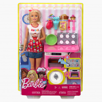 Barbie Kitchen Play Set