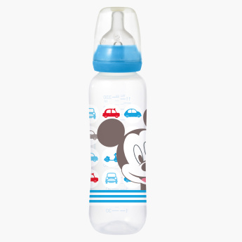 Tigex Printed Mickey Mouse Feeding Bottle with Nipple - 330 ml