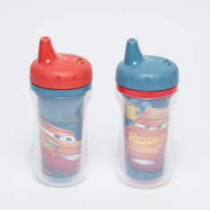 The First Years Cars Printed 2-Piece Sipper Cups - 266 ml