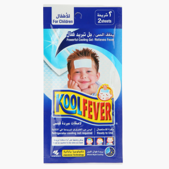 Kool Fever Cooling Gel Sheet - Set of 2