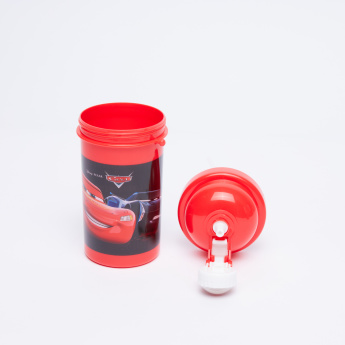 Cars Printed Water Bottle - 500 ml