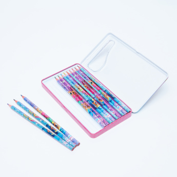 Shimmer and Shine Printed 12-Piece Colour Pencil Set