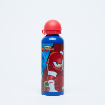 Sonic Printed Water Bottle with Spout - 500 ml