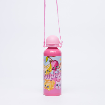Shopkins Printed Water Bottle - 500 ml
